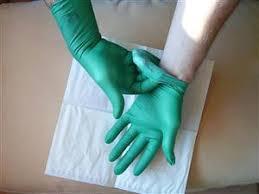 دستکش لاتکس دندانپزشکی